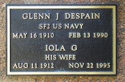 Iola G <I>Wilkins</I> Despain