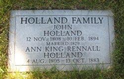 Ann King <I>Rennall</I> Holland