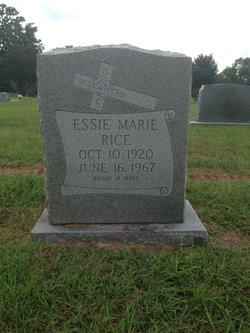 Essie Marie Rice