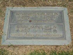 """Winifred Davis """"Winnie"""" <I>Simpson</I> Gordon"""