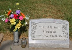 Ethel Mae <I>Fort</I> Anderson