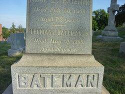 Thomas J Bateman, Jr