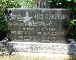 Alix Cemetery