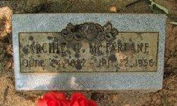 Archie G. McFarlane