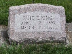 Ruie E. King