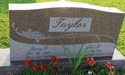 Jerry C Taylor