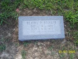 Reatha P Brinker