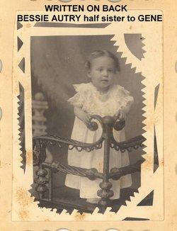 Bessie B <I>Autry</I> Middaugh