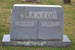 Mary Catherine <I>Harr</I> Akard