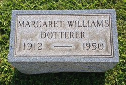 Margaret Belle <I>Williams</I> Dotterer