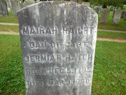 Mariah <I>Hatch</I> Haight