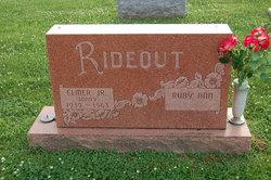 """Elmer """"Sonny"""" Rideout, Jr"""