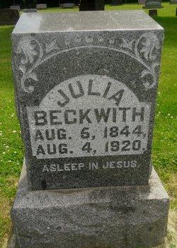 Julia Eliza Beckwith