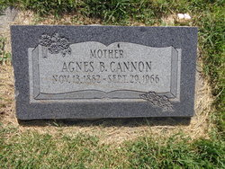 Agnes Dolores <I>Brown</I> Cannon