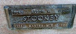 Martha <I>Weise</I> Stookey