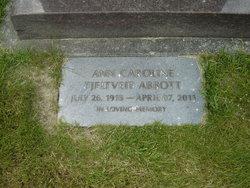 Ann Caroline <I>Tjeltveit</I> Abbott