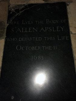 Sir Allen Apsley