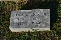 Pvt Thomas Marvel Gooden, III