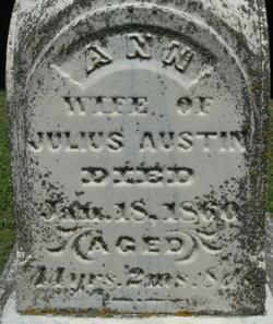 Ann <I>Smith</I> Austin