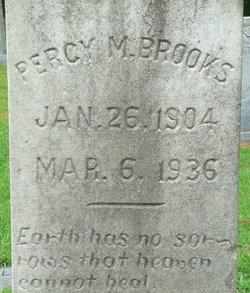 Percy M Brooks