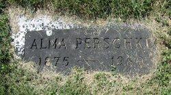 Alma F <I>Suhr</I> Perschke