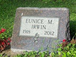 Eunice Mae <I>Rhineberger</I> Irwin