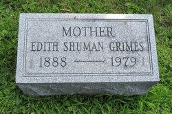 Edith Laura <I>Shuman</I> Grimes