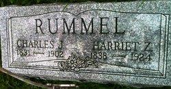 Harriet Anne <I>Zerby</I> Rummel