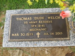 "Thomas Howard ""Dude"" Welch"