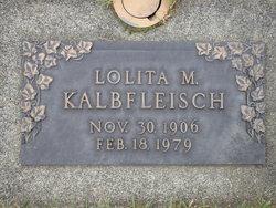 Lolita May <I>Hall</I> Kalbfleisch