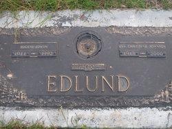 Eva Christine <I>Johnson</I> Edlund
