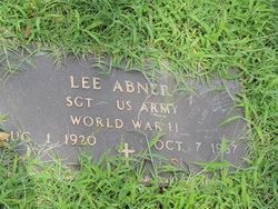 Sgt Lee Abner