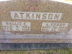 """Sarah E. """"Sallie"""" <I>Grigsby</I> Atkinson"""