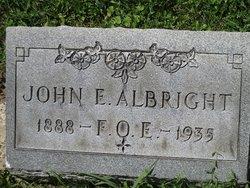John E Albright