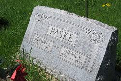 Minnie E. <I>Rabe</I> Paske