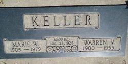 Marie W. <I>Kuehner</I> Keller