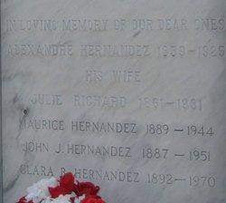 Clara <I>Bacque</I> Hernandez