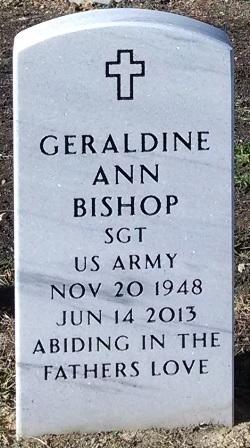 Geraldine Ann Bishop