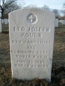 PFC Leo Joseph Roulx