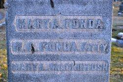 Mary Augusta <I>Clark</I> Fonda
