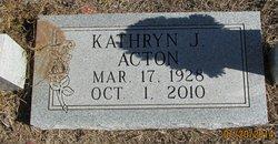Kathryn June <I>Hallock</I> Acton