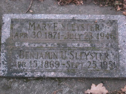"Benjamin Ulyssis ""Ben"" Sleyster"