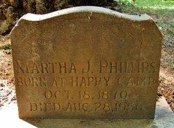 Martha J. <I>Lewis</I> Phillips