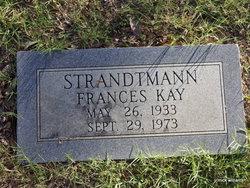 Frances Kay Strandtmann