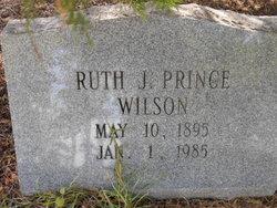Ruth J <I>Prince</I> Wilson