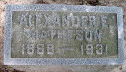 Judge Alexander E Matheson