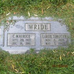 Clarence Maurice Wride