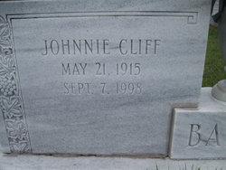 Johnnie Cliff Barham
