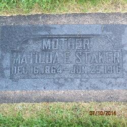 Matilda Emeline <I>Wagstaff</I> Staker