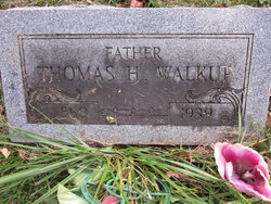 "Thomas Harvey ""Harve"" Walkup"